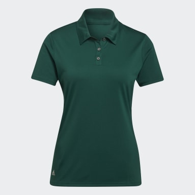 Women Golf Green Performance Polo Shirt