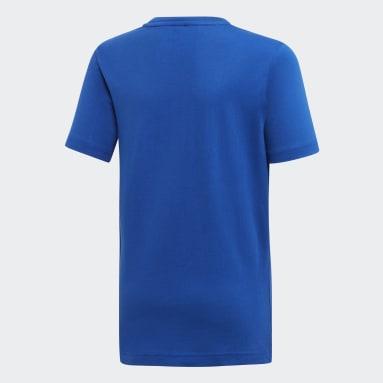 Must Haves  T-shirt Badge of Sport Bleu Adolescents Entraînement