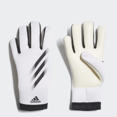 Youth 8-16 Years Football White X 20 Training Goalkeeper Gloves