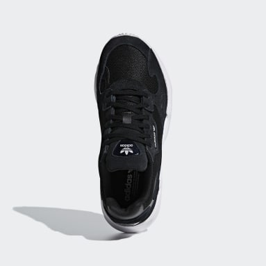 Women Originals Black Falcon Shoes