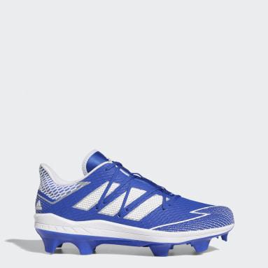 Men's Baseball Blue Adizero Afterburner 7 Pro TPU Cleats