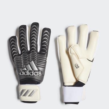 Soccer White Classic Pro Gloves