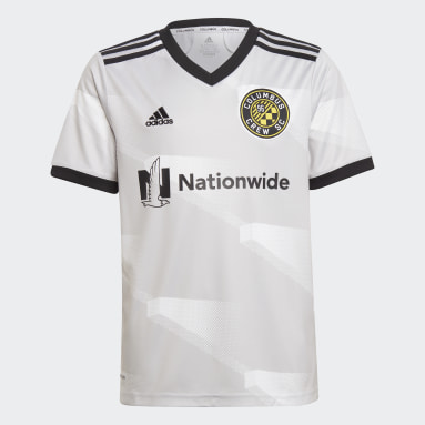 Youth Soccer White Columbus Crew SC 21/22 Stadium Jersey
