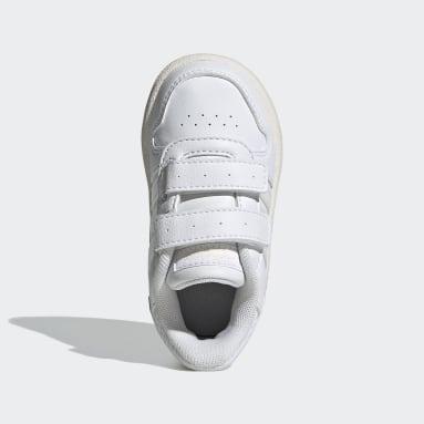 Zapatillas HOOPS 2.0 CMF (UNISEX) Blanco Niño Diseño Deportivo