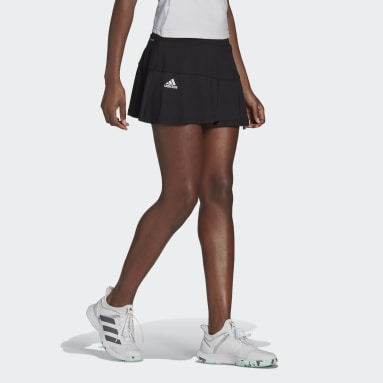 Women Tennis Black Tennis Match Skirt