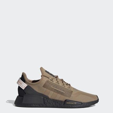 Men Originals Brown NMD_R1 V2 Shoes