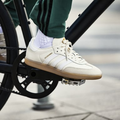 Cycling White The Velosamba Cycling Shoes