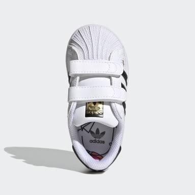 Infants Originals สีขาว รองเท้า Superstar