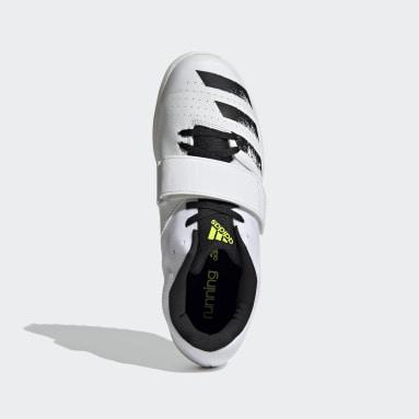 Sapatos de Bicos Jumpstar Branco Homem Atletismo