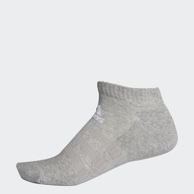 Training Grey Cushioned Low-Cut Socks