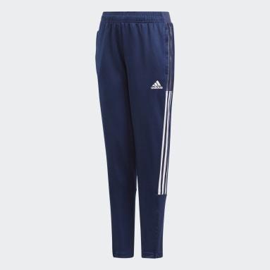 Kids Football Blue Tiro 21 Training Pants
