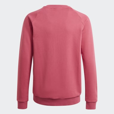 Youth Originals Pink Adicolor Crew Sweatshirt