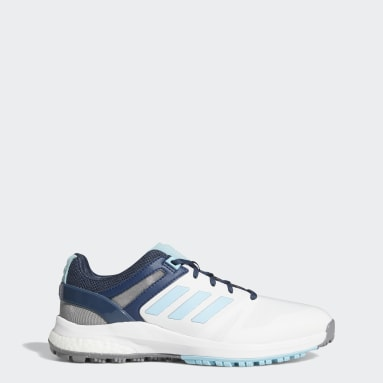 Women Golf White EQT Spikeless Golf Shoes