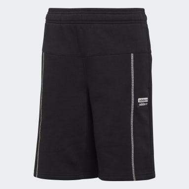 Pantalón corto R.Y.V. Negro Niño Originals