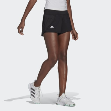 Women's Tennis Black Tennis Match Shorts