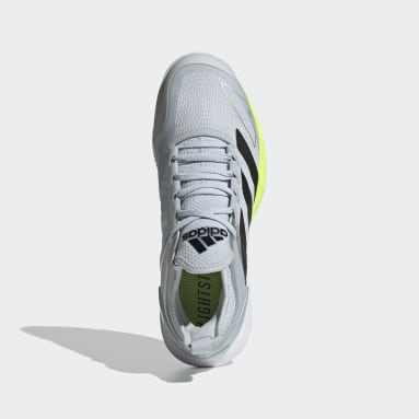Dames Tennis Wit Adizero Ubersonic 4 Clay Schoenen