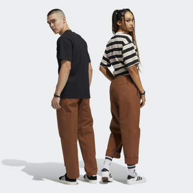 Originals Brown Loose Pants (Gender Neutral)