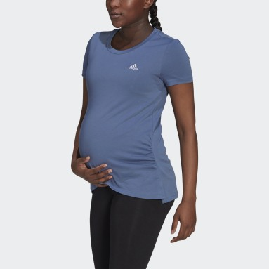 T-shirt Essentials Cotton (Maternité) Bleu Femmes Sportswear