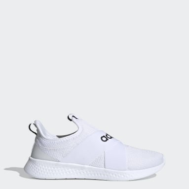 Women Walking White Puremotion Adapt Shoes