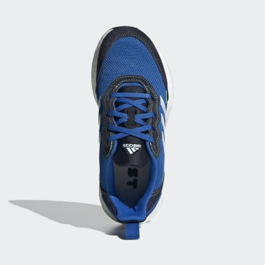 Youth 8-16 Years Running Blue RapidaLux S and L Shoes