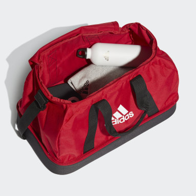 Voetbal Rood Tiro Primegreen Bottom Compartment Duffeltas Small