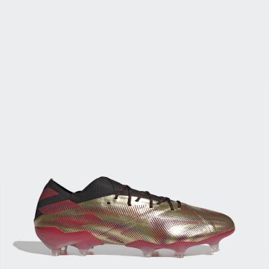 Scarpe da calcio Nemeziz Messi.1 Firm Ground Oro Calcio