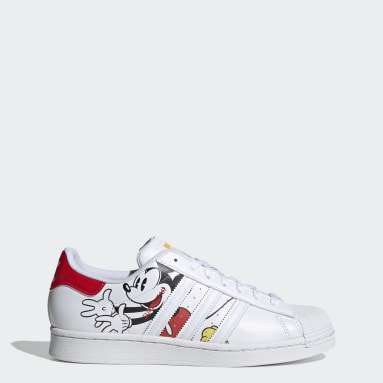 Men Originals White Superstar Shoes