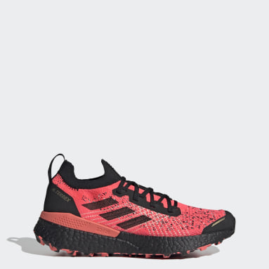 Women's TERREX Pink Terrex Two Ultra Parley Trail Running Shoes