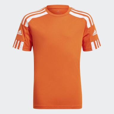Camiseta Squadra 21 Naranja Niño Fútbol
