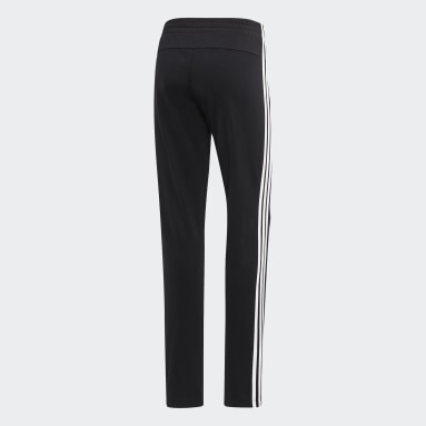 Women's Essentials Black Essentials Tricot Open Hem Pants