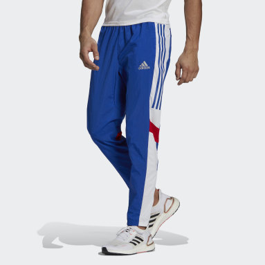 Men's Running Blue Track Pants