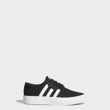 Kids Originals Black Seeley Shoes