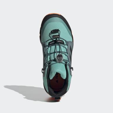 Terrex Mid GORE-TEX Hiking Shoes Zielony