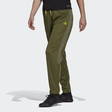 Women Cricket Green Tiro Transparent Pants