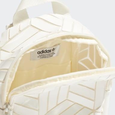 Women Originals White Mini 3D Backpack