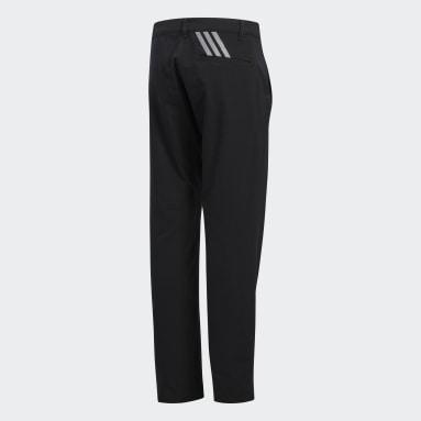 Pantaloni Solid Nero Ragazzo Golf