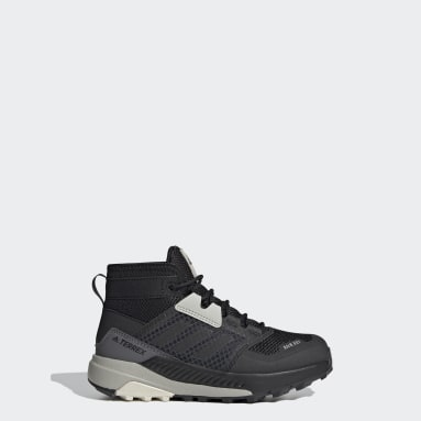 Kids TERREX Black Terrex Trailmaker Mid RAIN.RDY Hiking Shoes
