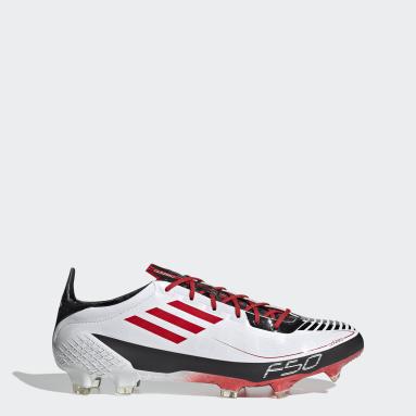 Mænd Fodbold Hvid F50 Ghosted Adizero Prime Firm Ground støvler
