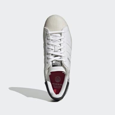 Erkek Originals Beyaz Superstar Primeblue Ayakkabı