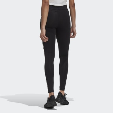 Dames Originals Zwart Adicolor Sliced Trefoil High-Waisted Legging