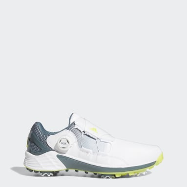 Men Golf White ZG21 BOA Golf Shoes