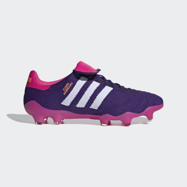 Men's Soccer Purple Copa Mundial 21 Firm Ground Cleats