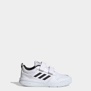 Children Running White Tensaurus Shoes