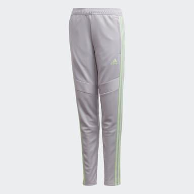 Children Soccer Grey Girls' Tiro 19 Pants