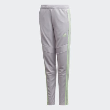 Pantalon Girls' Tiro 19 gris Enfants Soccer