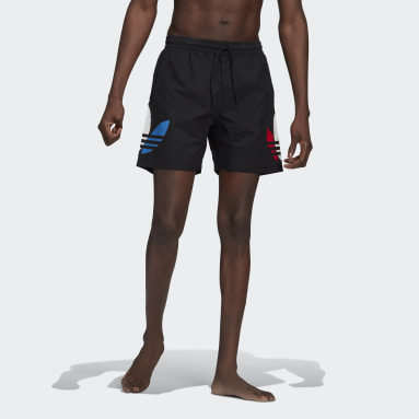 Men Originals Black Adicolor Swim Shorts