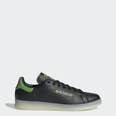 Men Originals Black Stan Smith Hulk Shoes
