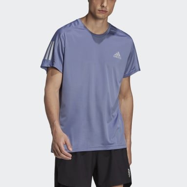 Own the Run Tee Fioletowy