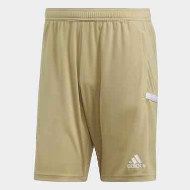 Men Football Beige Team 19 3-Pocket Shorts