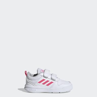 Infant Running White Tensaur Shoes